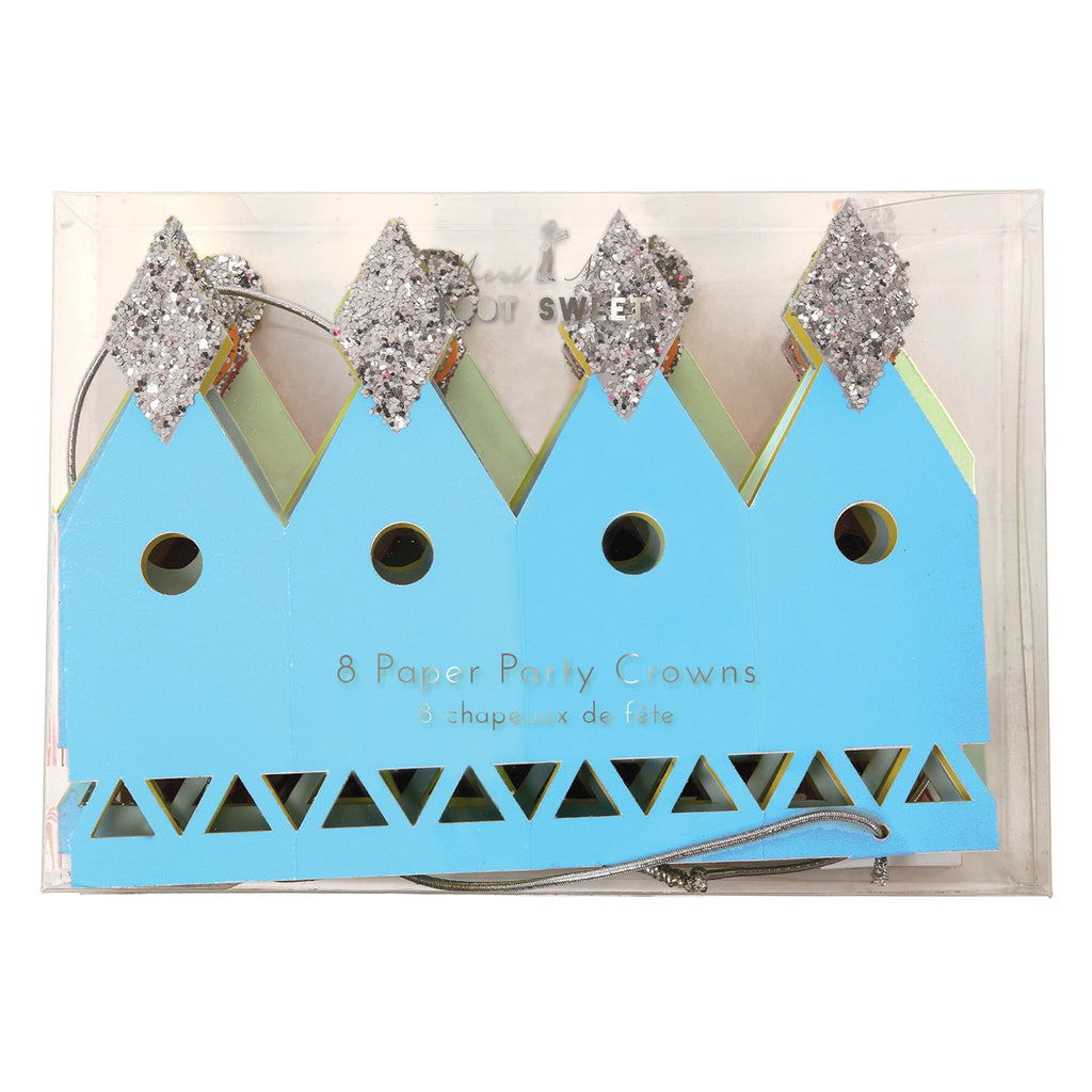 Party Crowns - Pack of 8
