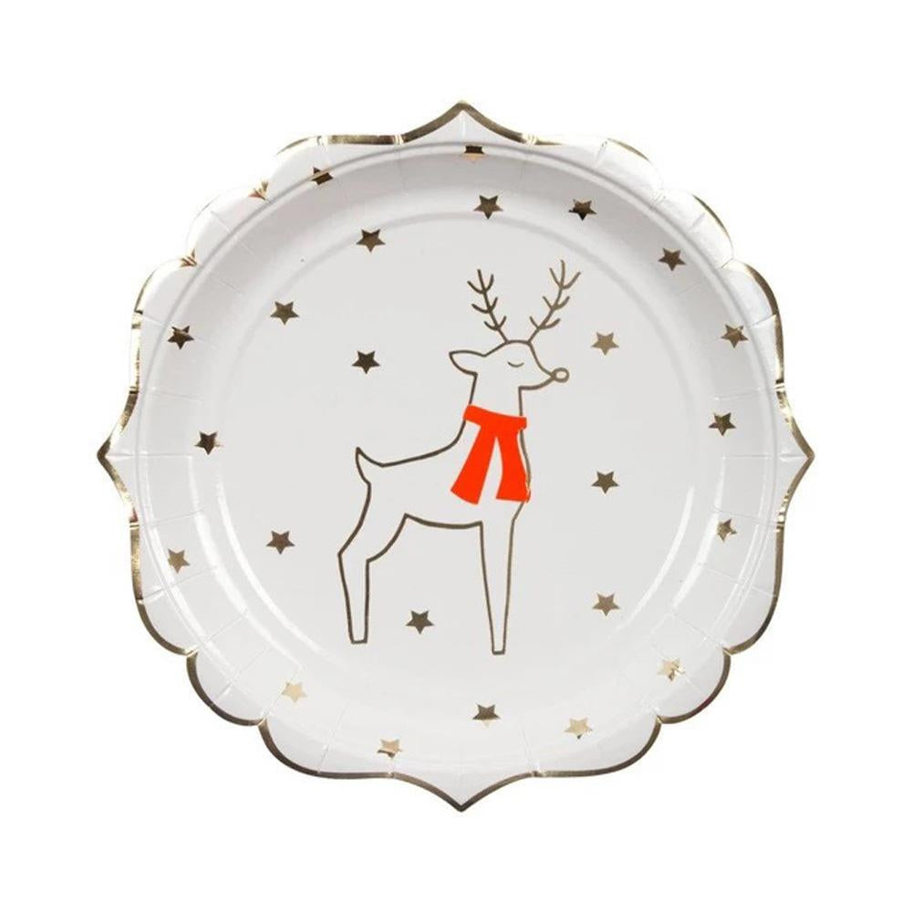 meri-meri-reindeer-&-star-plate-small-pack-of-8- (1)