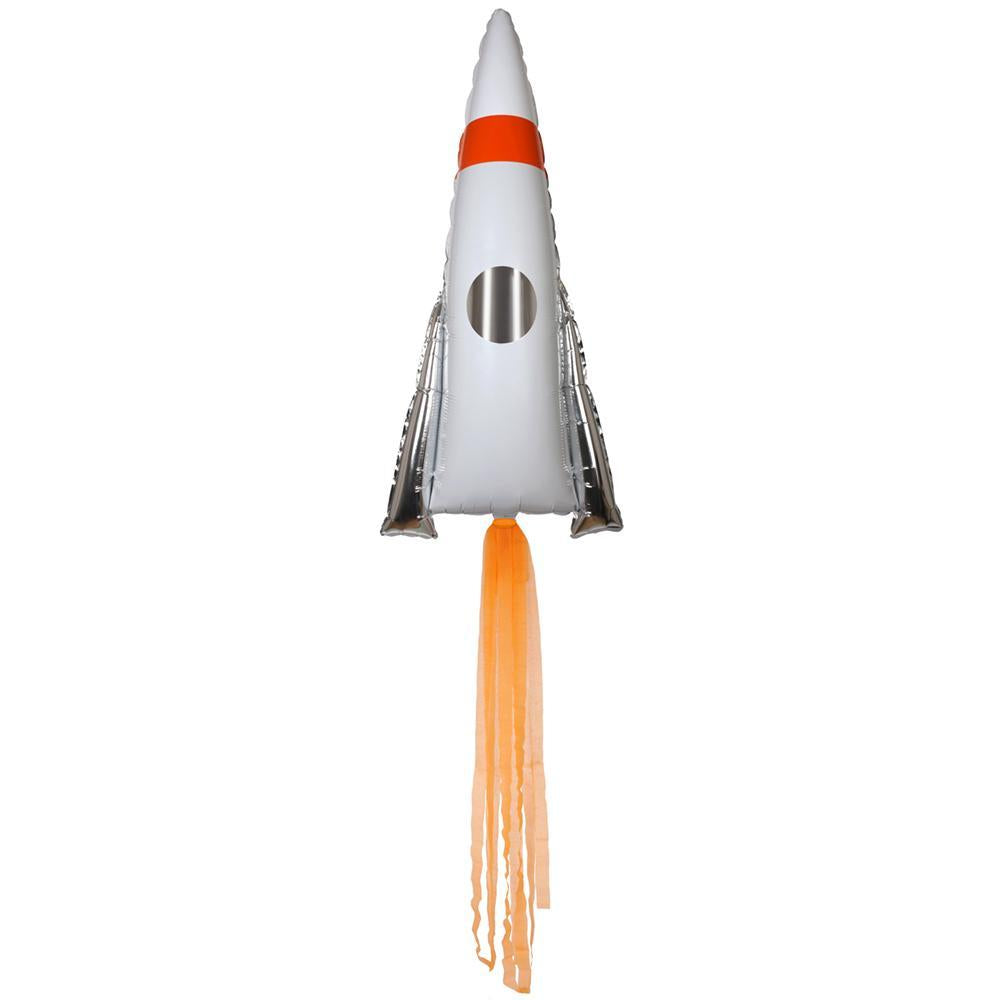 Space Rocket Mylar Foil Balloon 33in / 86cm