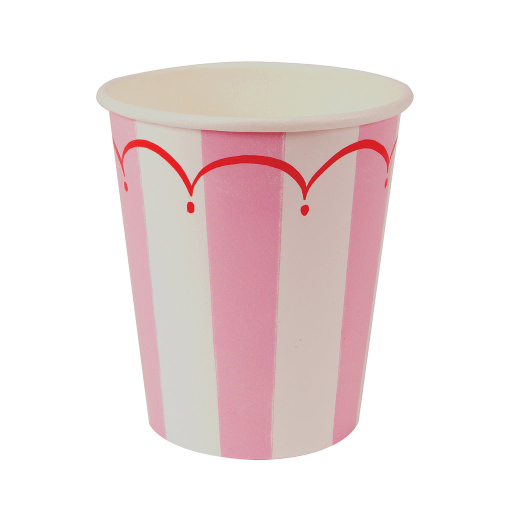 Toot Sweet Pink Party Cup 9oz - Pack of 12