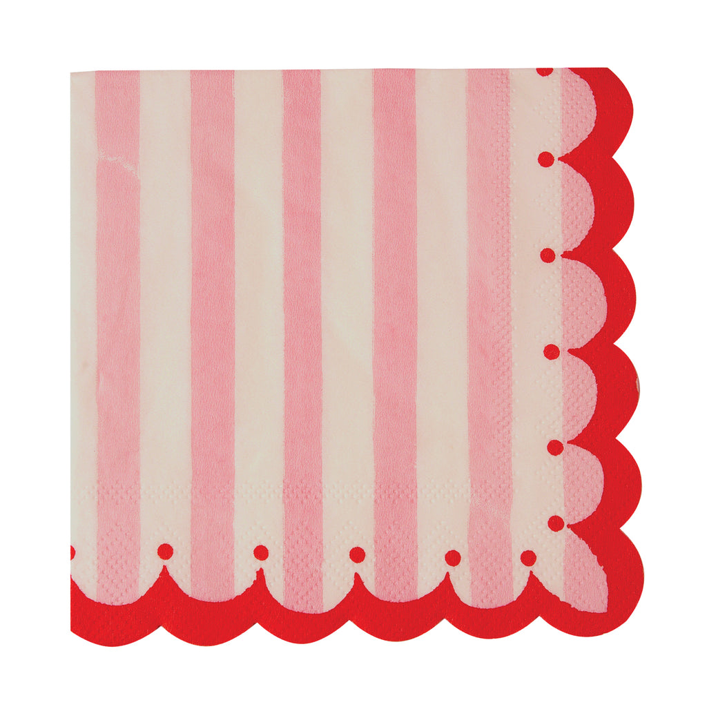 Toot Sweet Pink Small Napkins 10in - Pack of 20