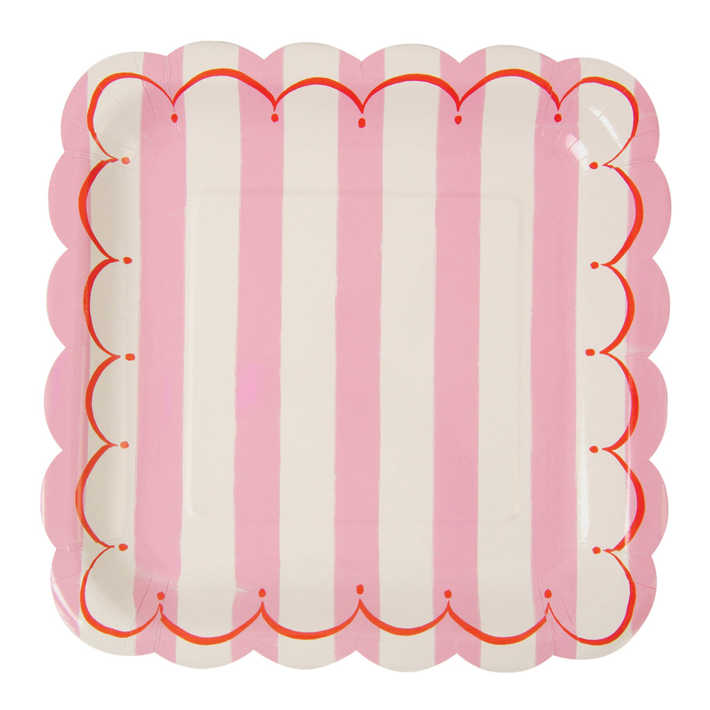 Toot Sweet Pink Small Plates - Pack of 12