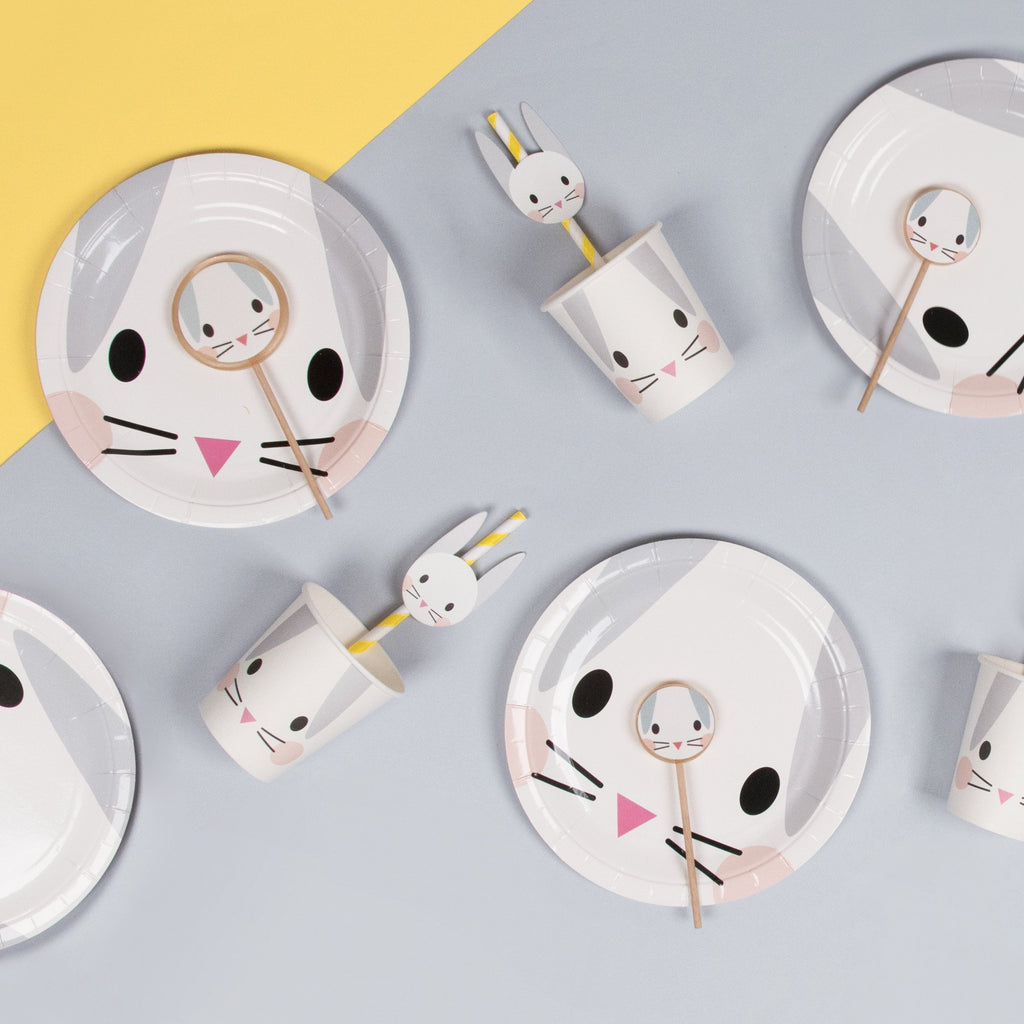 my-little-day-small-paper-plates-7in-19cm-mini-rabbit-pack-of-8- (4)