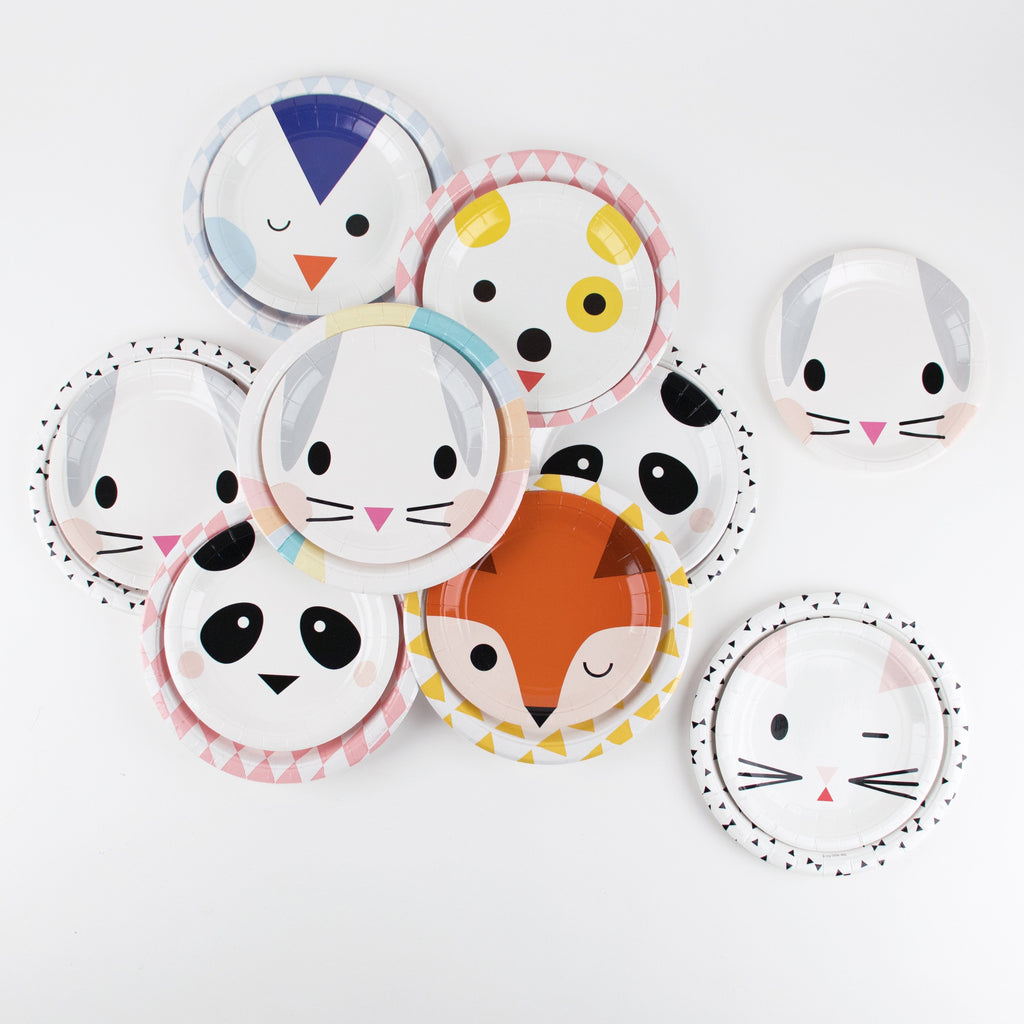 my-little-day-small-paper-plates-7in-19cm-mini-rabbit-pack-of-8- (5)