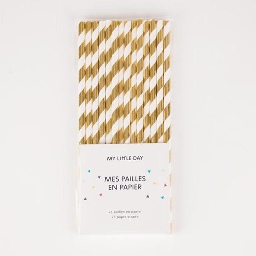 paper-straws-metallic-gold-stripes-pack-of-25- (3)