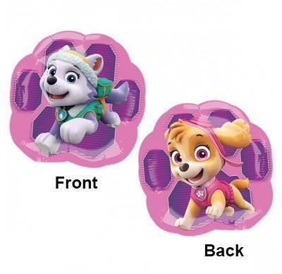 Paw Patrol Skye & Everest Foil Balloon