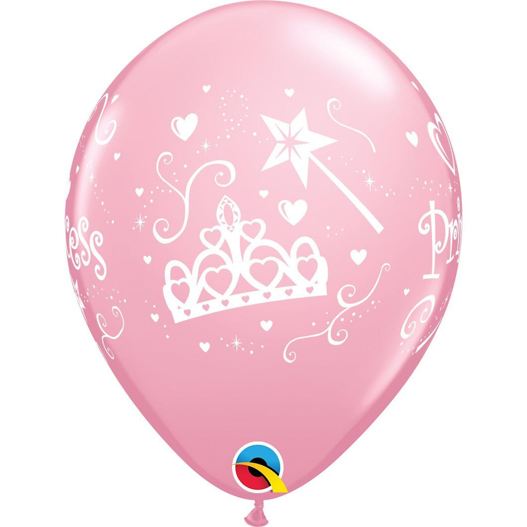 princess-pink-round-printed-latex-balloon-11-28cm-18305- (1)