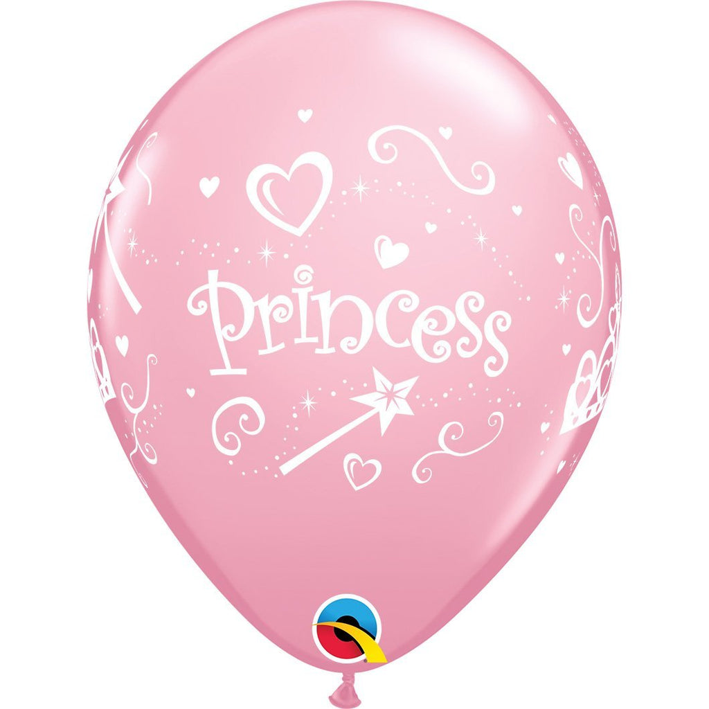 princess-pink-round-printed-latex-balloon-11-28cm-18305- (2)