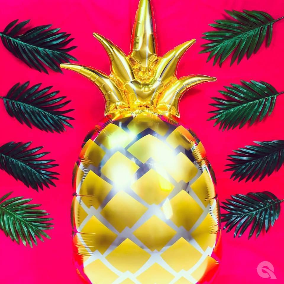 qualatex-golden-pineapple-round-foil-balloon-44in-111cm- (2)