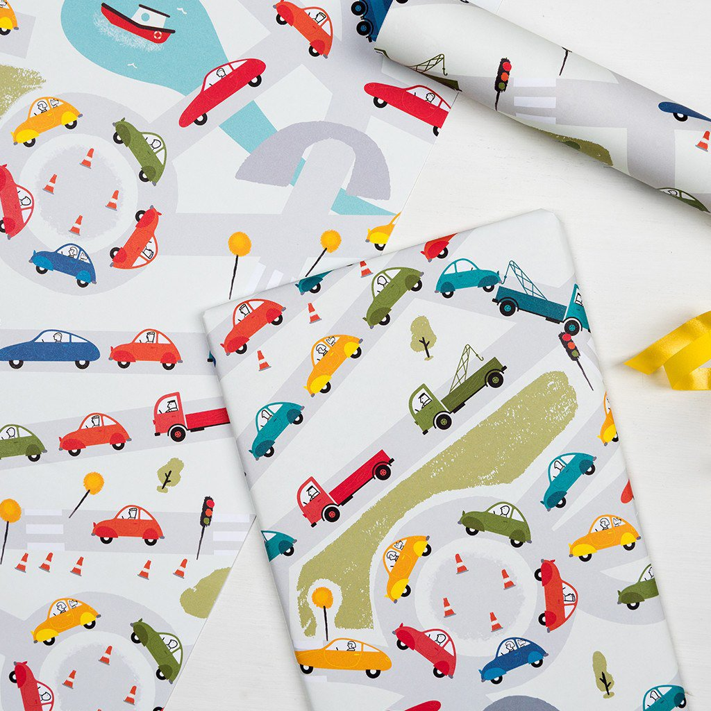 rex-traffic-jam-wrapping-paper- (3)