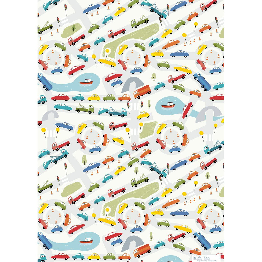 rex-traffic-jam-wrapping-paper- (2)