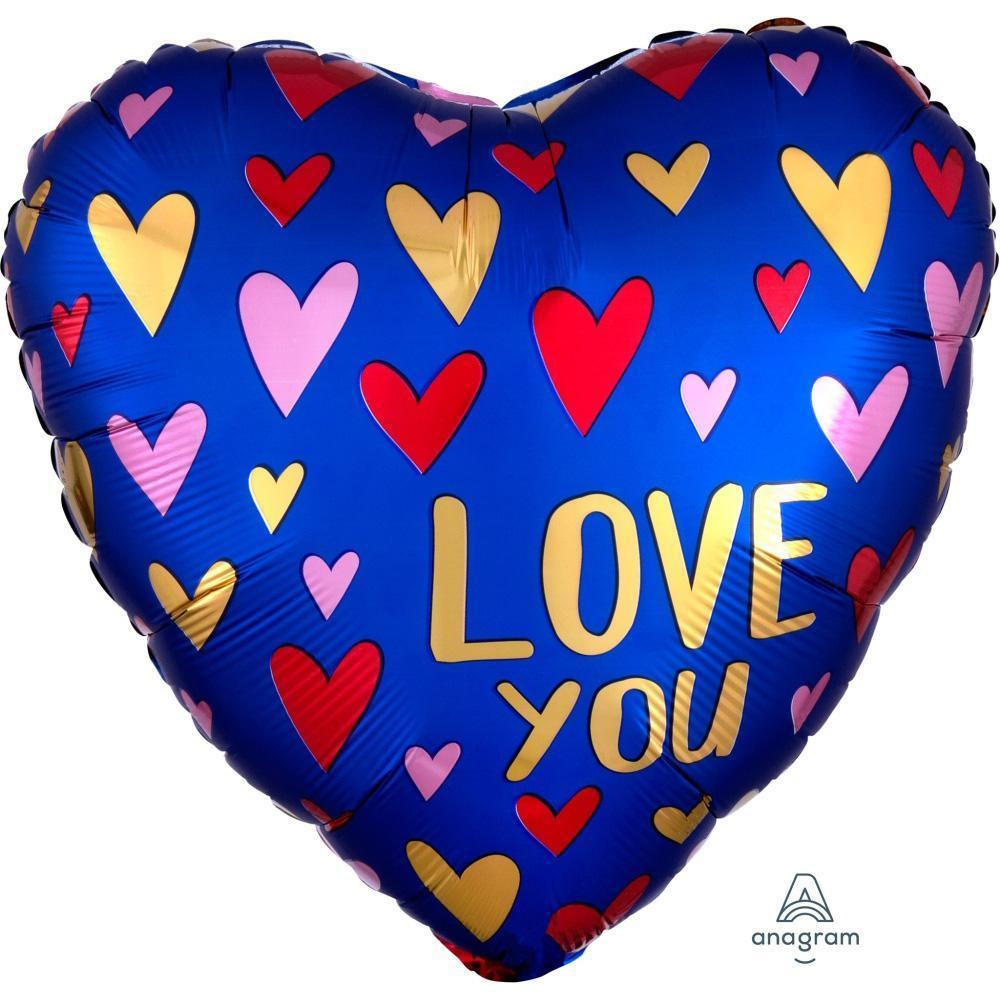 satin-navy-&-gold-love-heart-blue-foil-balloon-18in-46cm-38735-1