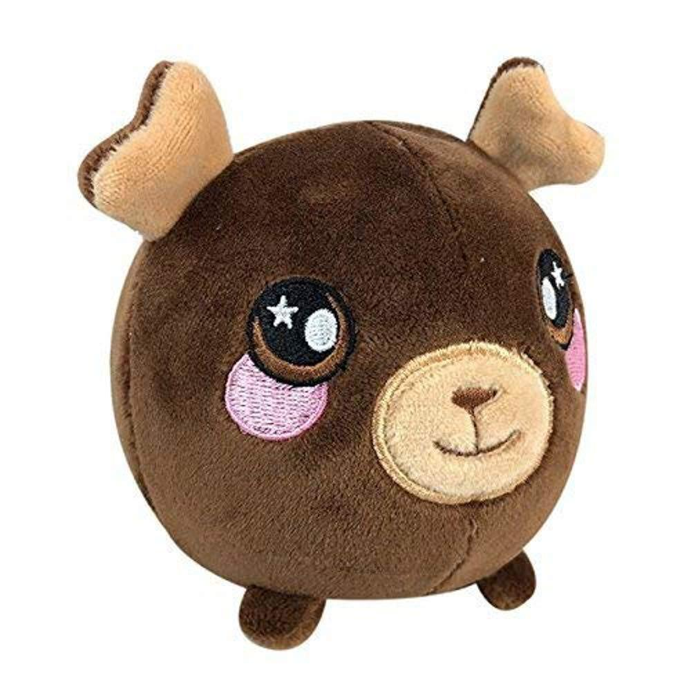 Squeezamals Super-Squishy Scented Plush 3.5in - Boris The Moose