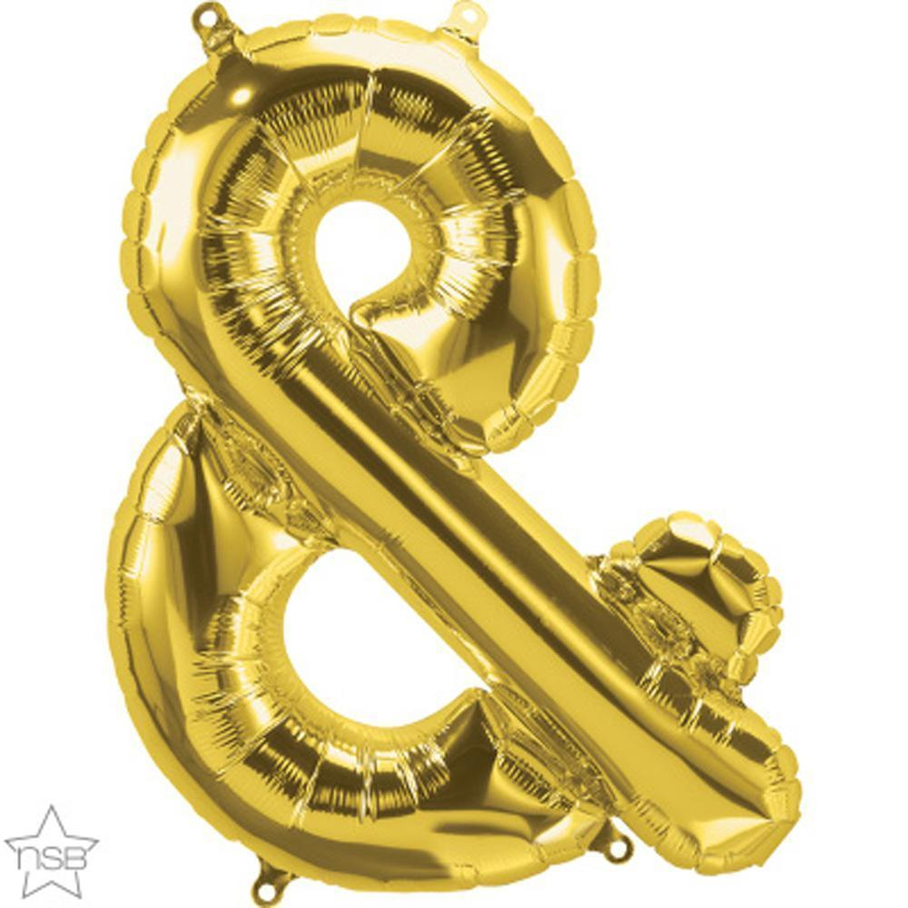 symbol-&-gold-die-cut-foil-balloon-16in-41cm-1