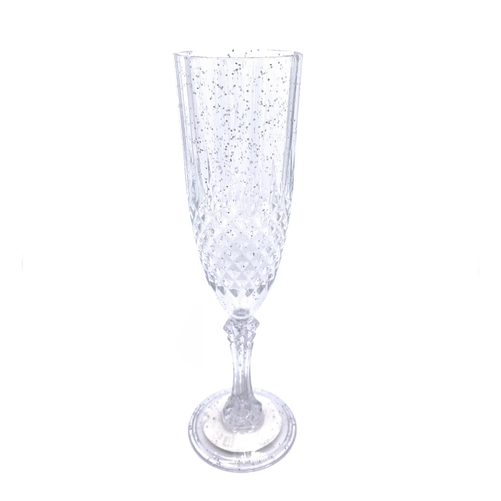 Party Champagne Flute Clear