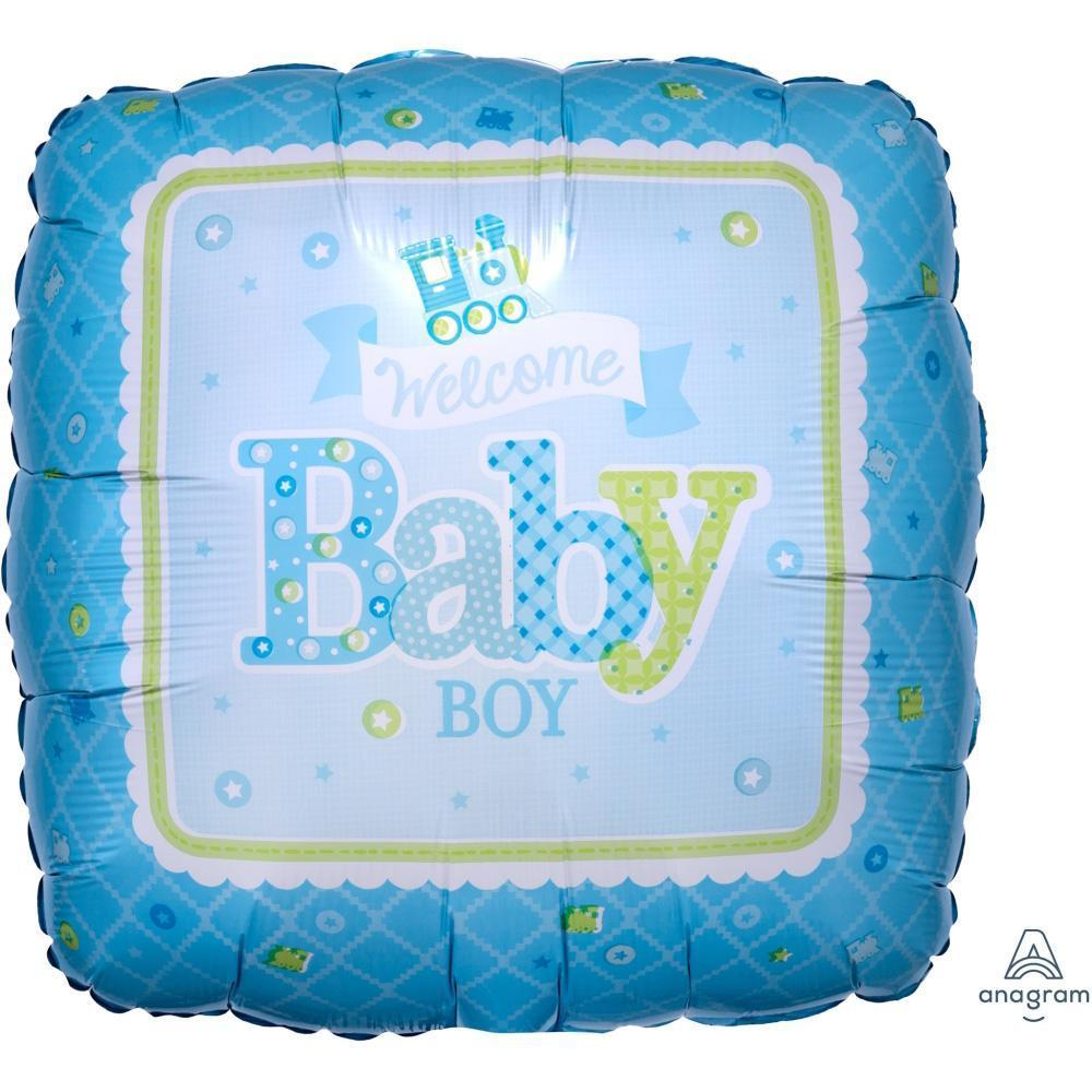 welcome-baby-boy-train-blue-round-foil-balloon-17in-44cm-30746-1