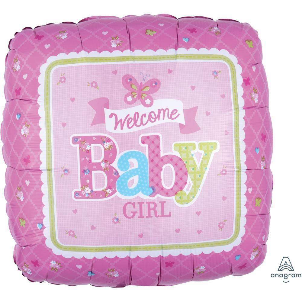 welcome-baby-girl-butterfly-pink-round-foil-balloon-17in-44cm-30747-1