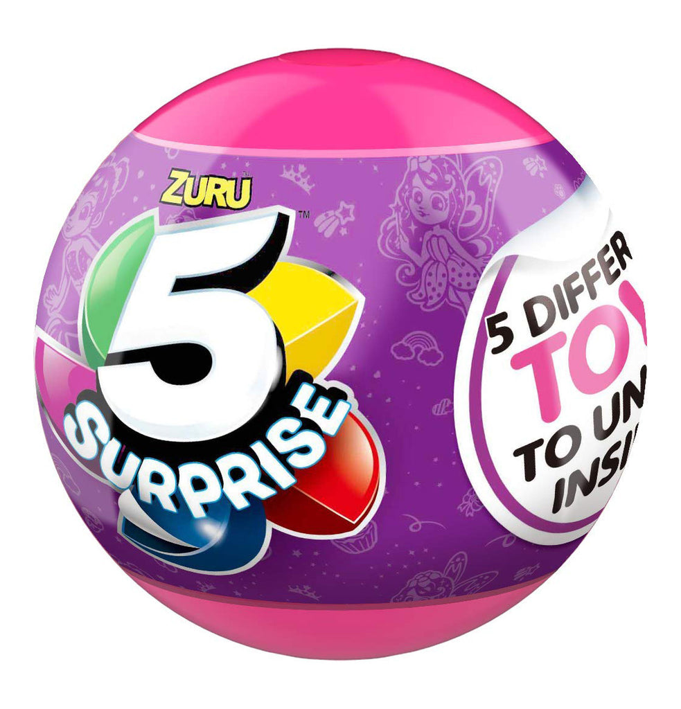 Zuru 5 Surprise Pink Mystery Capsule Collectibles - Wave 2 (1pc)