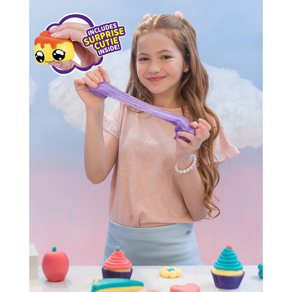 Zuru Oosh Cotton Candy Cuties Stretchy Foam Slime - Series 1 - Medium Pop - Pink