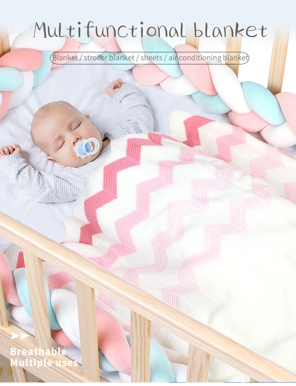 colorful baby blankets
