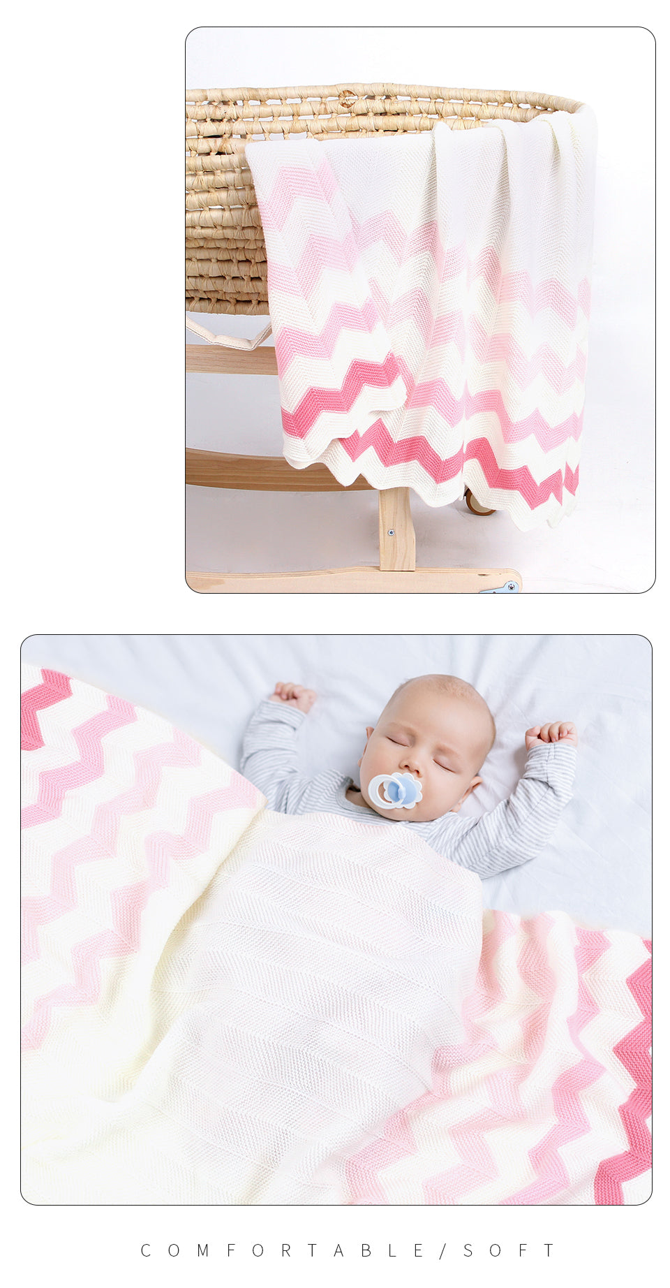 baby boy snuggle blanket