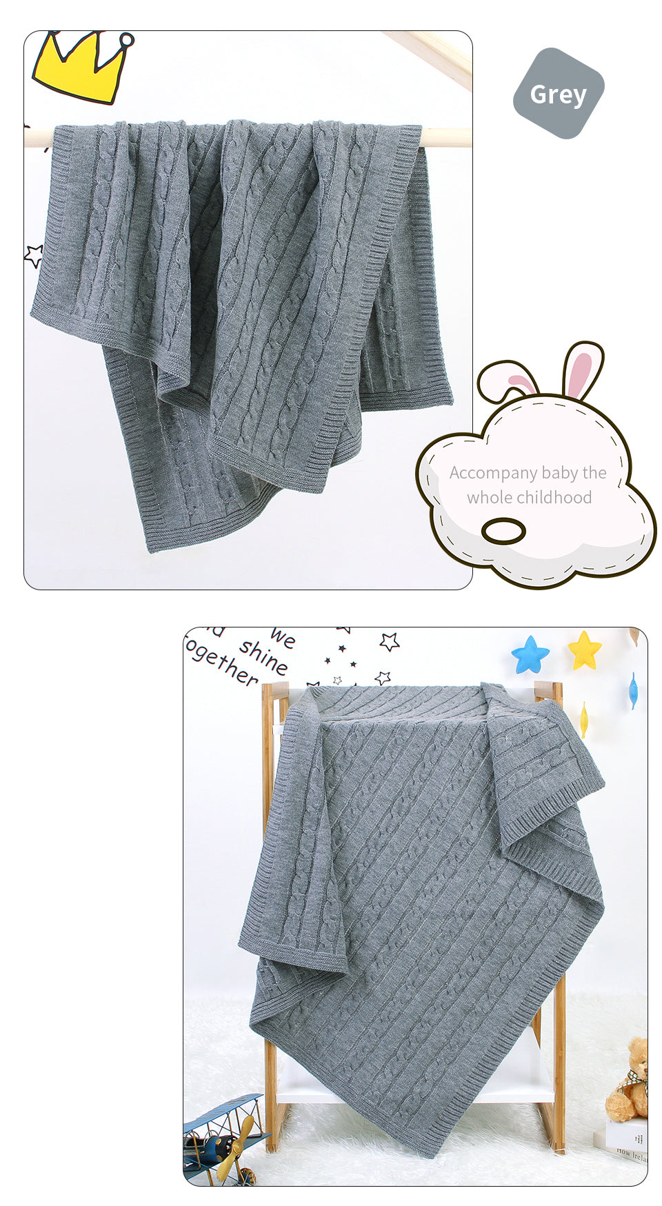 baby boy knitted blankets