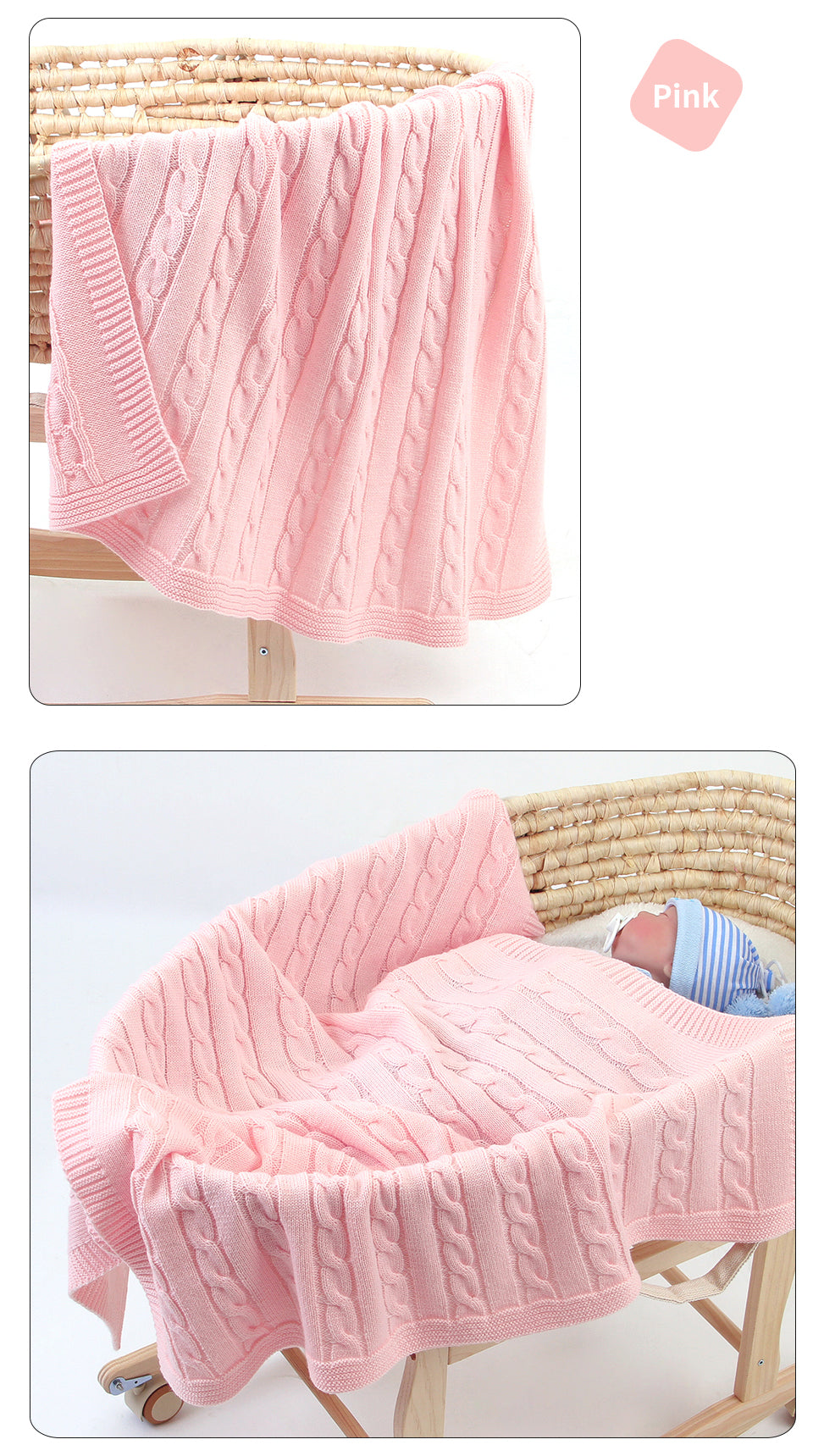 flannel receiving blanket