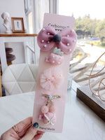 Children Hair Clip Set