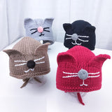 Autumn and Winter New Arrival Cat 3-15 Months Baby Hats