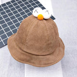 brown baby hat