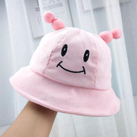 Pink baby hat
