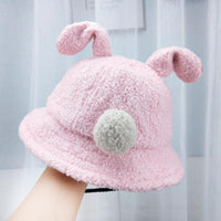 Baby Lambs Fisherman's Hat 1-4 Years Old Cute Little Rabbit Children's Hat - ccbabe