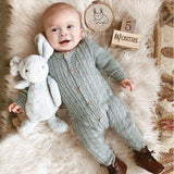 Baby Boy Romper Toddler Girl Knit Footies Jumpsuit
