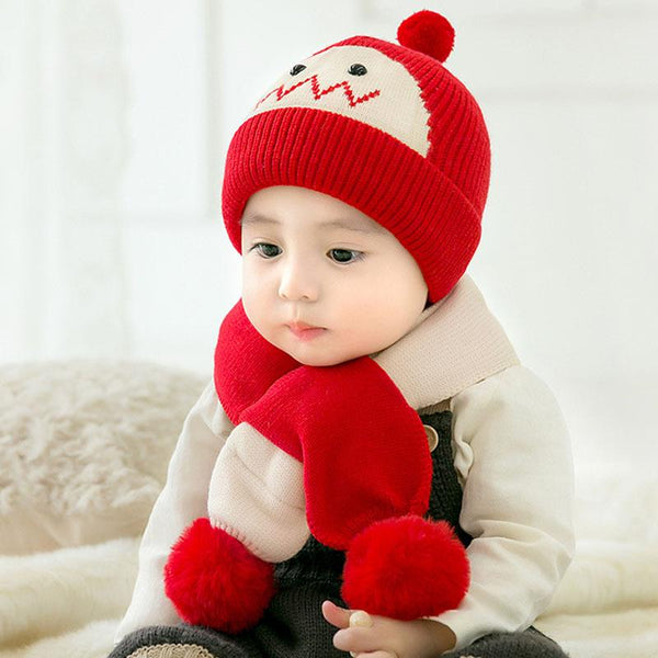 red baby hat