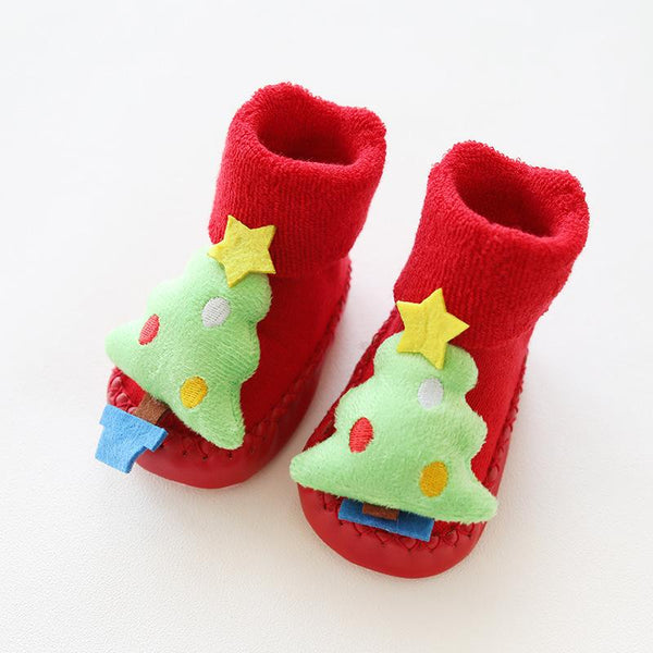 Christmas Baby Socks