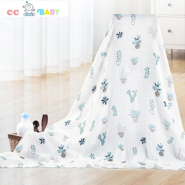 Bed Blankets Lightweight Thermal Baby Blanket Super Soft and Warm Crib Blanket for All Seasons