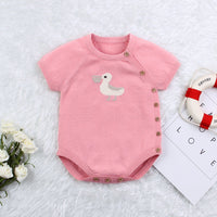 Baby Romper,100% Cotton Knitted One-Piece Outfits - ccbabe