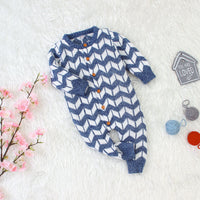 Baby Sweater Romper Layette Knit Long Sleeve Jumpsuits Hooded Jackets Coats