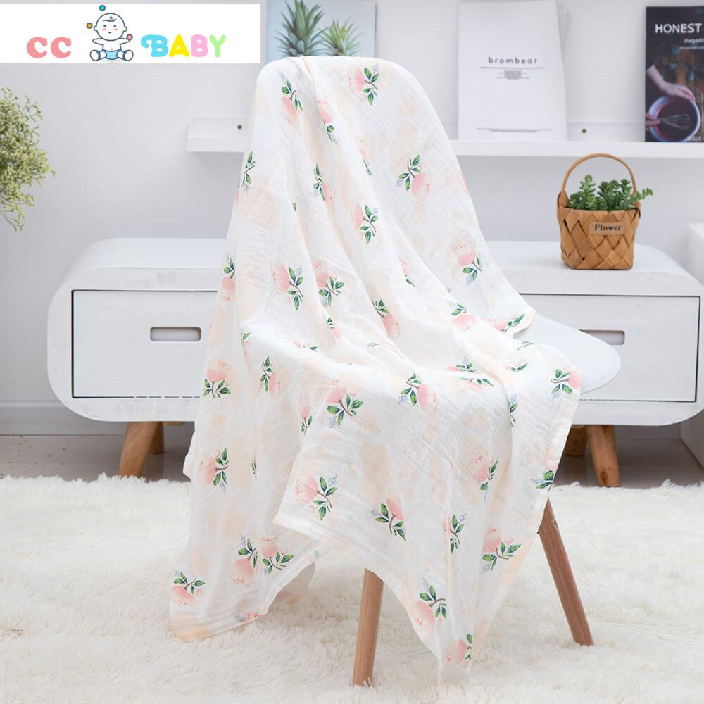 Bed Blankets Lightweight Thermal Baby Blanket Super Soft and Warm Crib Blanket for All Seasons - ccbabe