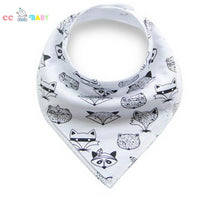 Baby Bibs Baby Bandana Drool Bibs Newborn Toddler Triangle Scarf Infant Bandana Drool Bibs Burp Cloths Saliva Towel - ccbabe