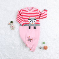Baby Cotton Romper Toddler Jumpsuits Kids Owl Pattern Outfits - ccbabe