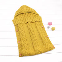 yellow sleeping bag