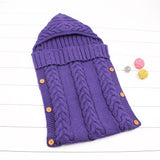 purple sleeping bag