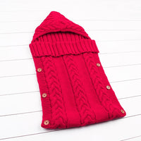 red sleeping bag