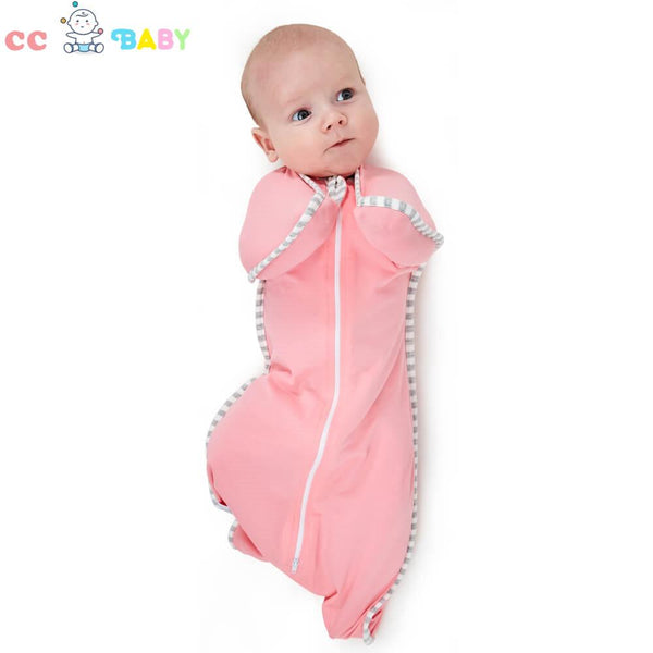 Baby Boys and Girls Pure Cotton Colorful Elasticized and  Detachable Sleeping Bag