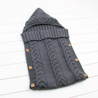 dark grey sleeping bag