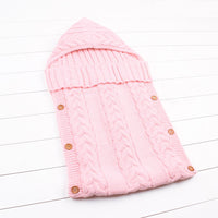 light pink sleeping bag