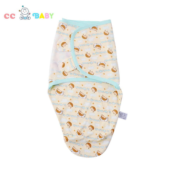 Newborn Baby cartoon Pure Cotton swaddle Infant sleeping bag - ccbabe