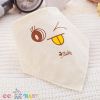 Cute Baby Bibs Newborn Toddler Triangle Scarf Infant Bandana Drool Bibs Burp Cloths Saliva Towel