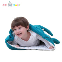 New style Pure cotton baby shark baby sleeping bag for 0-48 months baby - ccbabe